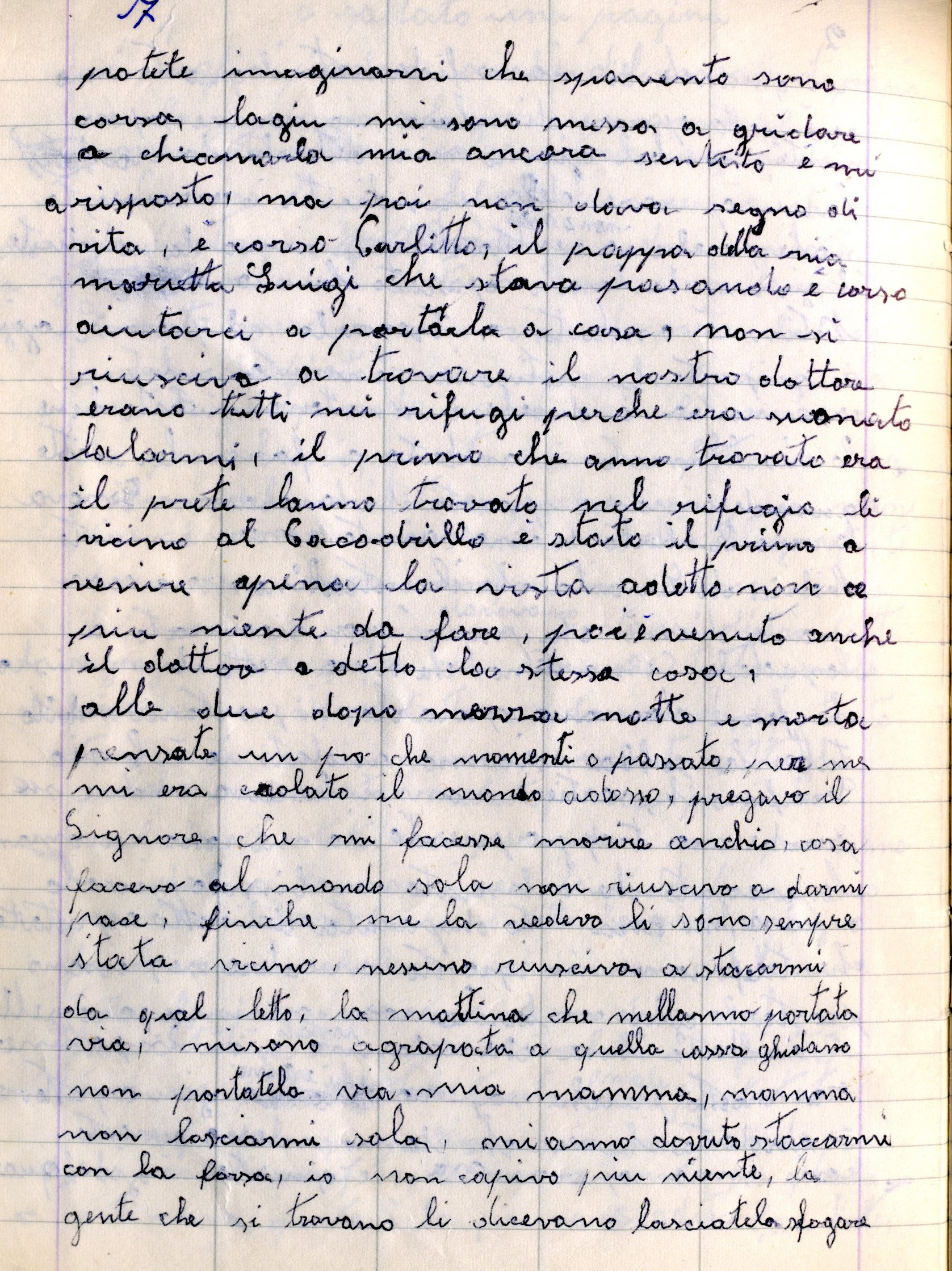 Quaderno nonna 2011